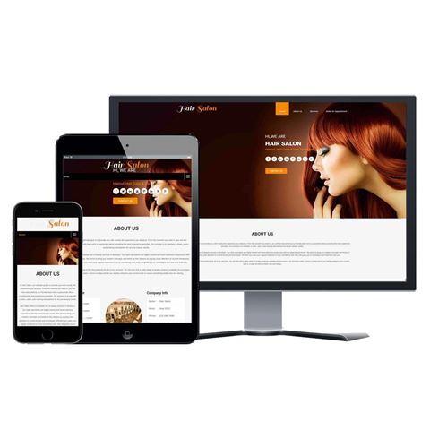 Picture of Hair Salon Website - Design #105
