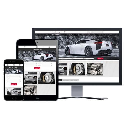 Hình ảnh Website eCommerce - Thiết Kế #902 Auto Store