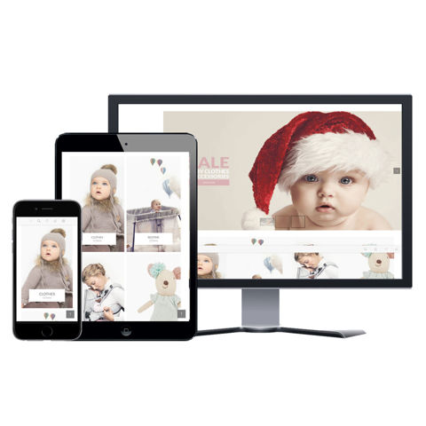 Hình ảnh Website eCommerce - Thiết Kế #903 Baby Store