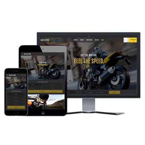 Hình ảnh Website eCommerce - Thiết Kế #905 Bike Store
