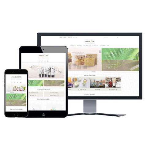 Hình ảnh Website eCommerce - Thiết Kế #907 Cosmetic Store