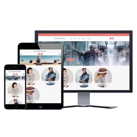 Hình ảnh Website eCommerce - Thiết Kế #909 Fashion 2 Store