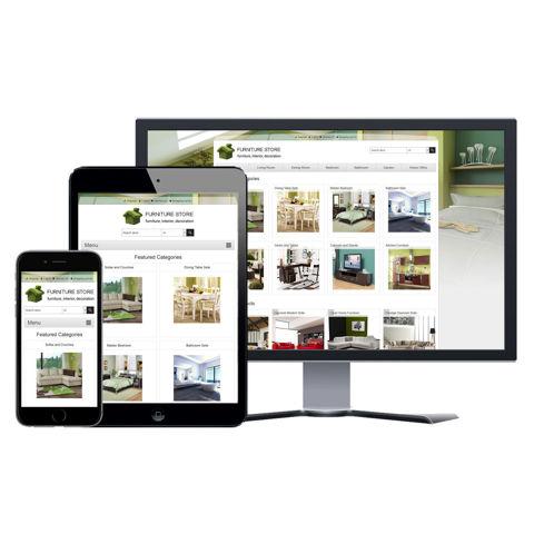 Hình ảnh Website eCommerce - Thiết Kế #910 Furniture
