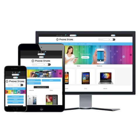 Hình ảnh Website eCommerce - Thiết Kế #913 Mobile