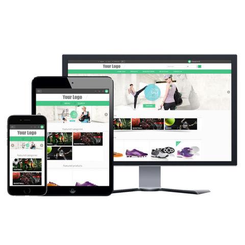 Hình ảnh Website eCommerce - Thiết Kế #914 Shoe