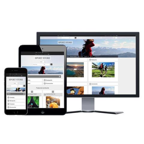 Hình ảnh Website eCommerce - Thiết Kế #915 Sport