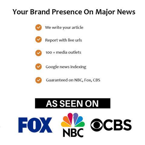 Hình ảnh Đăng Doanh Nghiệp Lên CBS, Fox, NBC