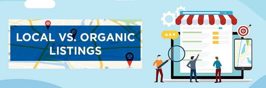 Khác biệt giữa local SEO và organic SEO